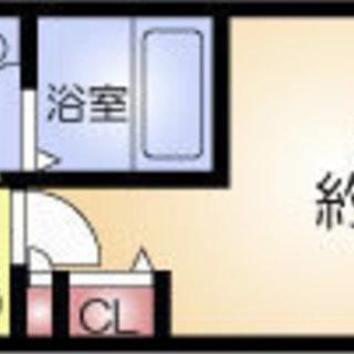 桜川5分 家賃35,000円 共益費5,000円 28.14㎡