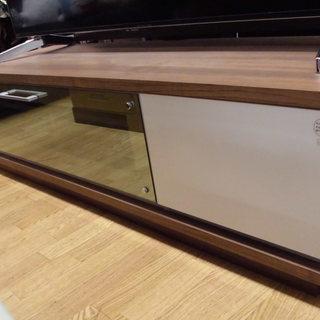 テレビボード 140cm幅 白×木目調天板 札幌 西岡店