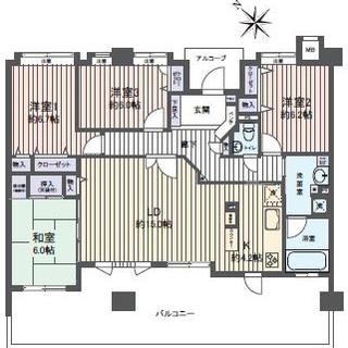 福岡市東区松島に4LDKの最上階売マンション物件が出ました。