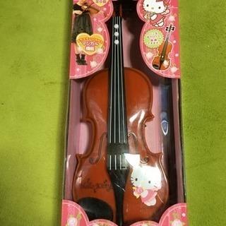本日引き取り確約限定!バイオリンのオモチャプラレールオマケ付き