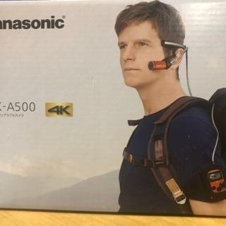 Panasonic 4kウェアラブルカメラ HXーA500防水 ...