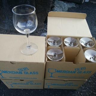 【無料】メルシャン ワイングラス 6客入り 4箱 引き取り限定