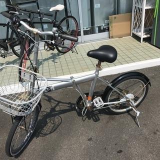 折り畳み自転車 20インチ 中古 リサイクルショップ宮崎屋 18....