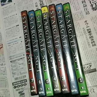 DVD STARGATE SG・1 1~7 送料は450円…