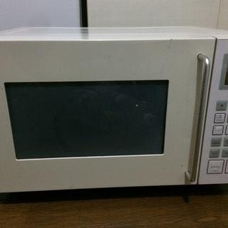 オーブレンレンジ 無印良品 M-E10C 2010年 引取りの方限定