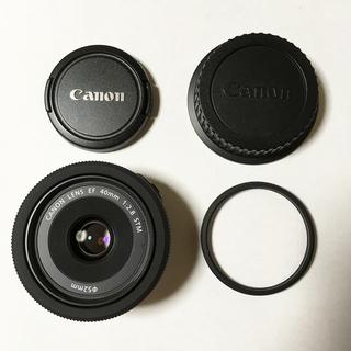 Canon EF40mm F2.8 STM 単焦点 パンケーキレ...