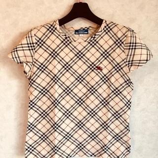 BURBERRY 定番大人気チェック半そでTシャツ♪