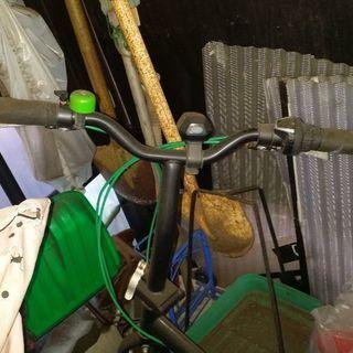 ジャンク折り畳み自転車
