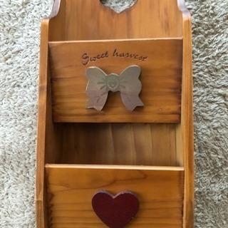 木製レターボックス