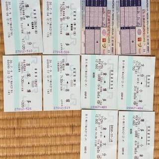 7/29切符(大分駅ー小倉ー博多ー吉塚)