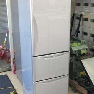 3ドア 日立 365L 冷凍冷蔵庫 スリムタイプ R-S37CMV...