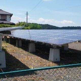 太陽光発電所敷地の除草管理