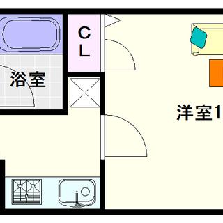 【レオンコンフォート難波サウスゲート】1号タイプ!1Kタイプ!裏...