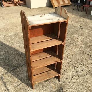 アメリカヴィンテージ 木製棚 古材棚