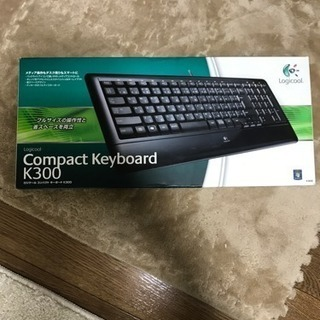 Logicool コンパクトキーボード K300 箱・説明書付き