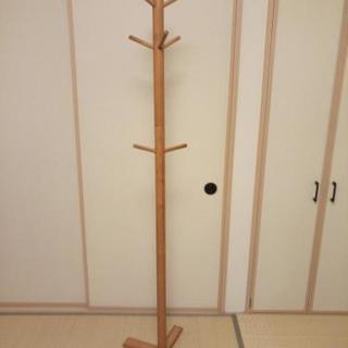木製 ポールハンガー コート掛け 子ども用