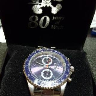 限定!割引ありディズニーミッキー80周年記念腕時計売ります