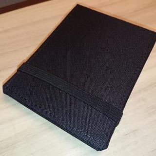 布製カバー付メモ帳