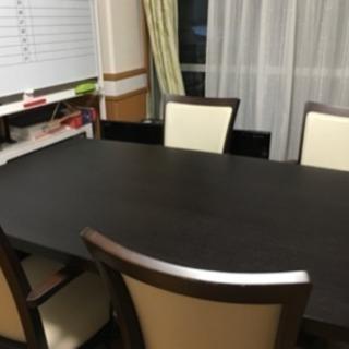 ダイニングセット テーブル1台 椅子4脚