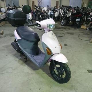 走行少ない!SUZUKI レッツ4  低燃費バイク!