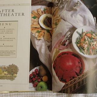 英語のレシピ本② A book of Light Meals and Small Feasts 洋書 - 堺市