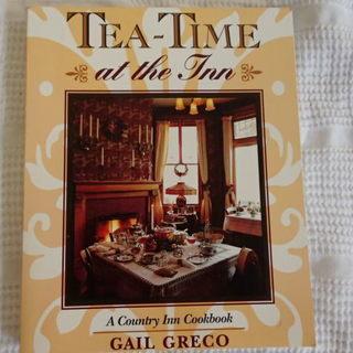 英語のレシピ本④ Tea-Time at the Inn 洋書