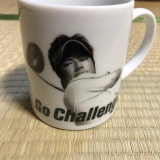 【未使用品】石川遼くんのマグカップ