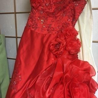 カラードレス  赤 9号