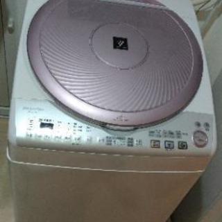 ~取引決定~中古品 洗濯乾燥機 SHARP 8キロ 2013年製