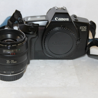 CANON/EOS650フィルム一眼レフカメラ(標準35-70mm)