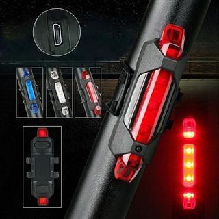 新品■USB充電LEDテールライト赤■リアライト