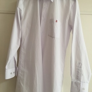 川越東高校 ワイシャツ、長袖175A  半袖170A 赤の学年用