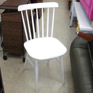 ダイニングチェア ホワイト 椅子 白 オシャレ 可愛い 札…
