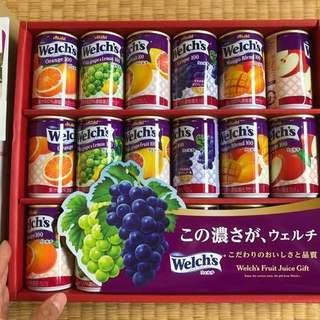 新品  welch's(ウェルチ)果汁100%ジュース 18缶入
