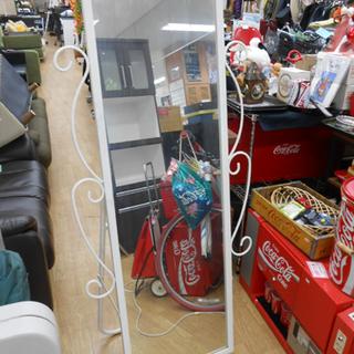 スタンドミラー 鏡 ミラー 白 ホワイト 姫系 札幌 ☆ Pay...