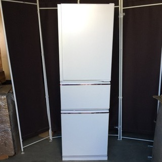自動製氷 三菱 冷蔵庫 MR-CX27C-W 3ドア 冷凍