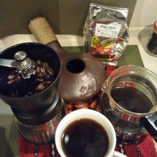 おウチで簡単!!コーヒー焙煎体験講座