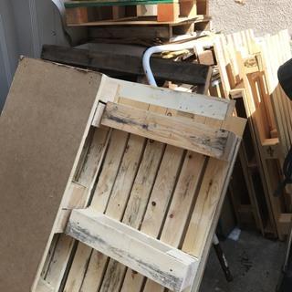 木パレット、大きさ色々(薪木・物流・DIY)東京