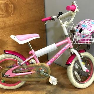 DUALLY GIRL 子供用自転車 14インチ 白/ピンク ...
