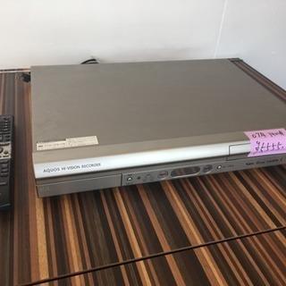 ★ シャープ AQUOS HDD DVDレコーダー DV-AC3...