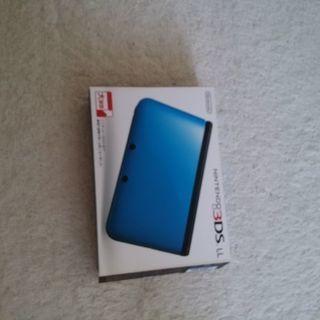 3DS LL ブルー×ブラック