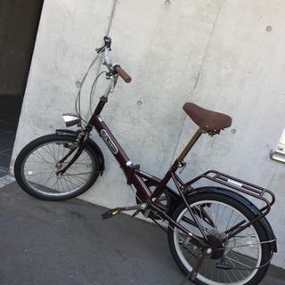 折り畳み自転車 20インチ LEDライト