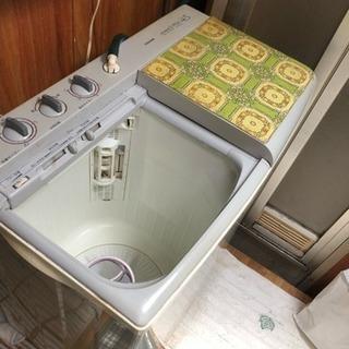 値下げ 無料二層式洗濯機 有料配達可能