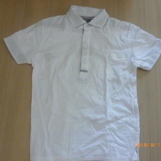 ORIHICA  GARAGE  白ポロシャツ (M)