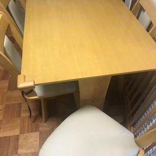テーブルセット差し上げます