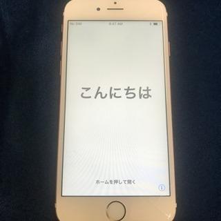 iPhone 6s Rose Gold 64 GB 割れあり