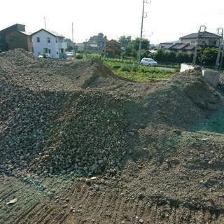 リサイクル砕石砂利RC40販売しております。