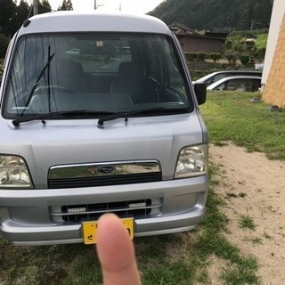 サンバーバン 4WD 5MT 車検30年10月まで
