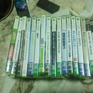 Xbox360ソフトとプレステ3ソフト