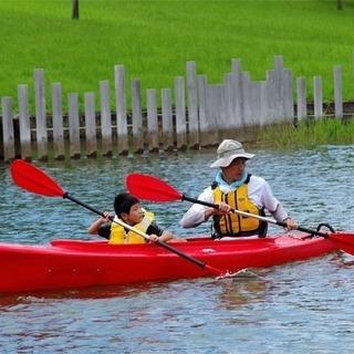 Let'sスポーツわくわくらぶ カヌー体験